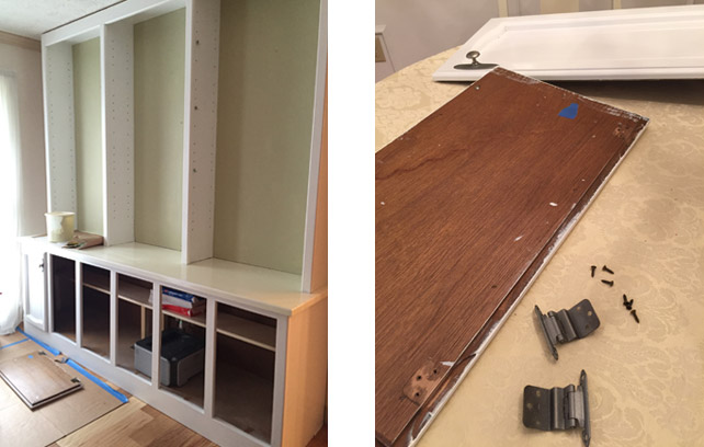 built-in-bookcase-installing-hardware-cabinet-doors
