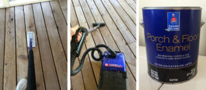 paint-screen-porch-floor-preparing-sanding