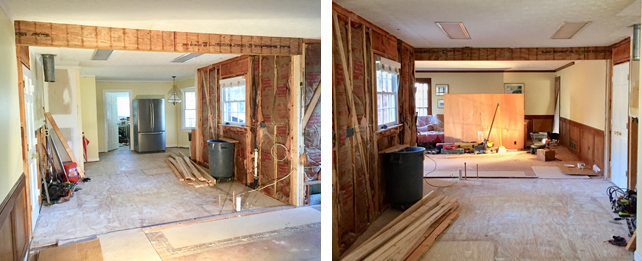 Kitchen Renovation - Removing A Load Bearing Wall - The Emerging Home