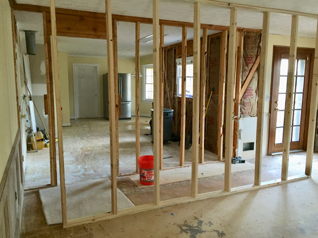 Kitchen Renovation Removing Load Bearing Wall